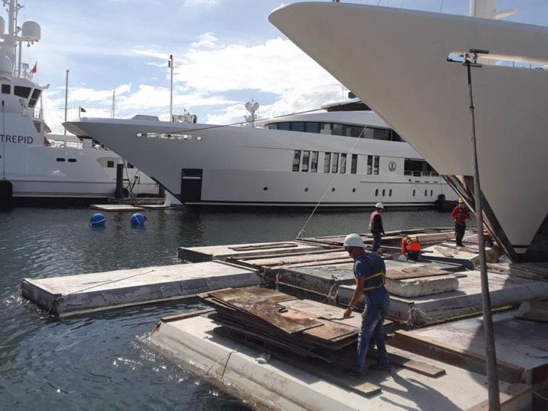 floating platform fort lauderdale